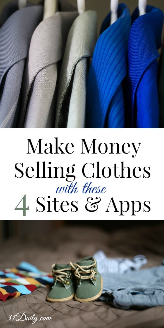 Make Money Selling Clothes with these 4 Sites and Apps | 31Daily.com