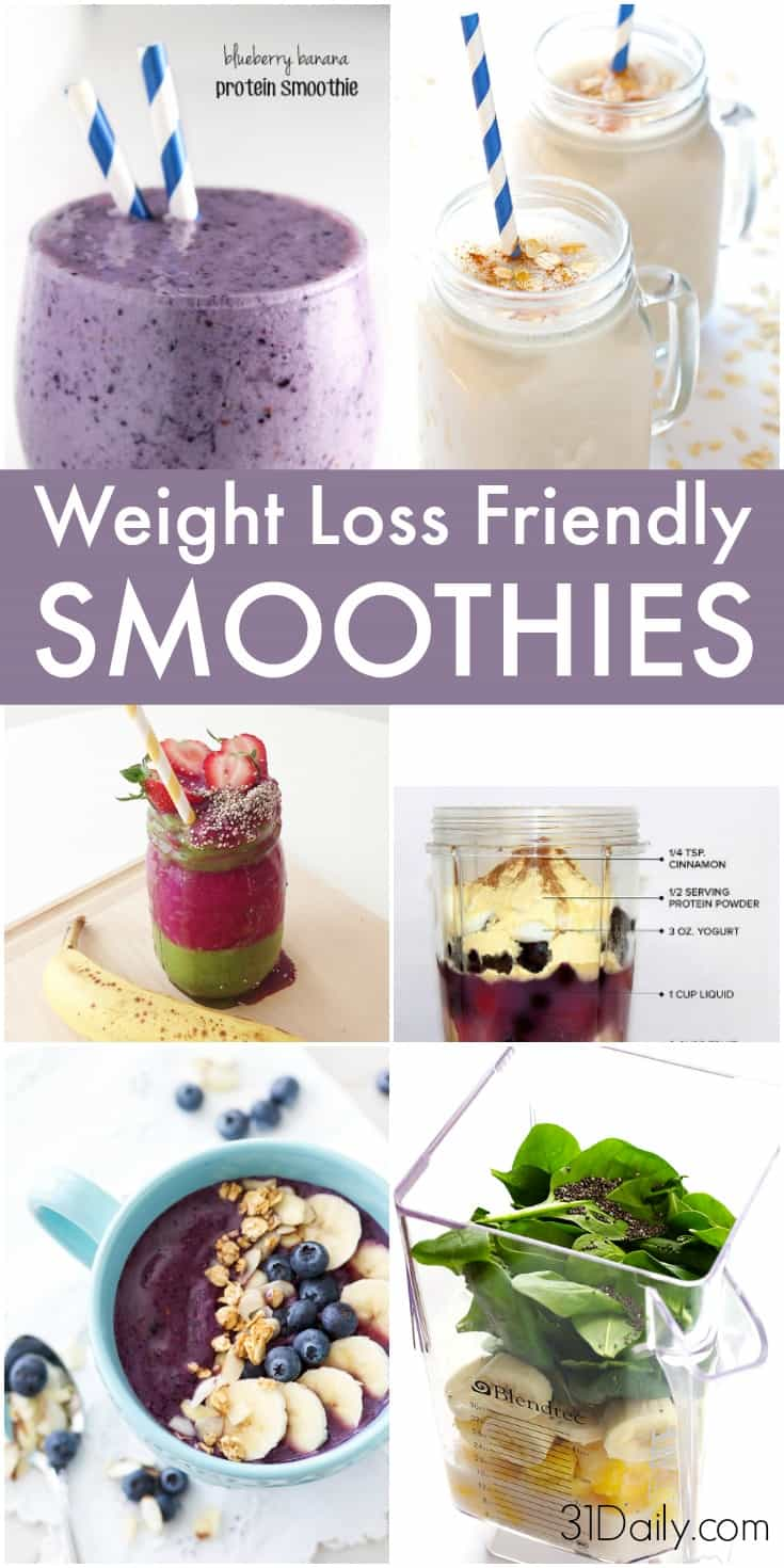 9 Skinny Breakfast Smoothies to Aid Weight Loss | 31Daily.com