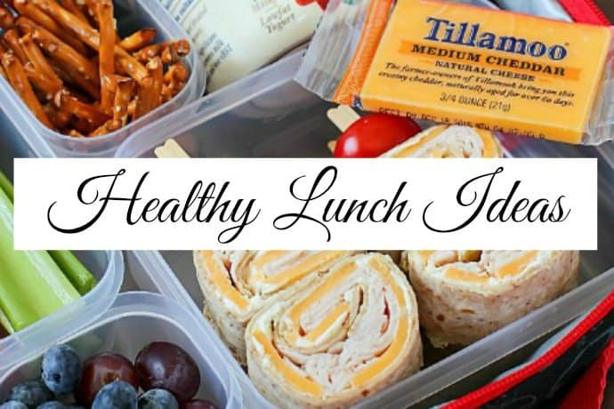10 Days of Healthy Lunch Ideas for Work and School