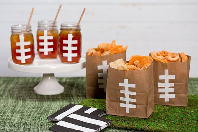 Quick and Easy DIY Football Party Gear