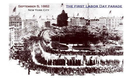 Celebrating Labor Day Then... and Now | 31Daily.com