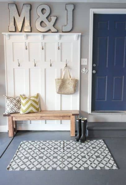 Easy Steps to an Organized Life in 31 Days: Front Entry Foyer (Day 3) | 31Daily.com