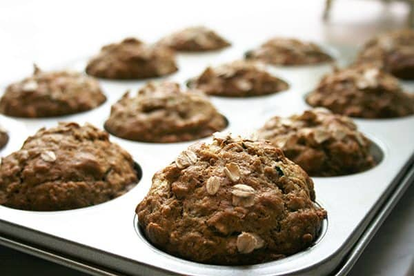 Healthy Zucchini Spice Muffins | 31Daily.com