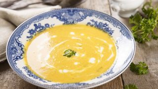 A Curried Carrot Soup