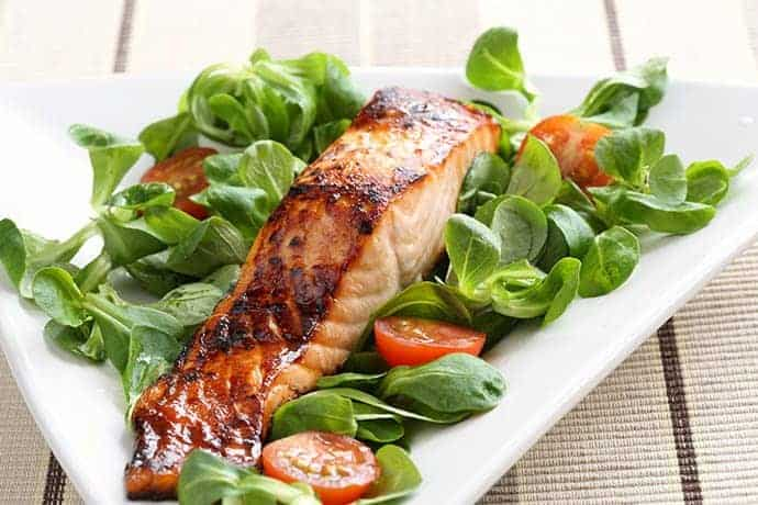 Maple Glazed Wild King Salmon | 31Daily.com