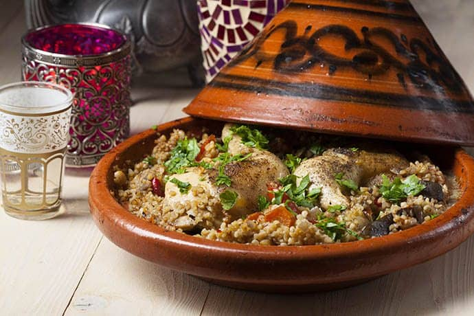 A Moroccan Countryside Mediterranean Chicken Tagine | 31Daily.com