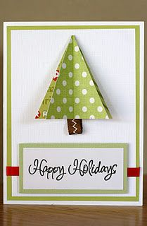 creating treasures easy handmade christmas cards 31dailycom - Create Christmas Cards