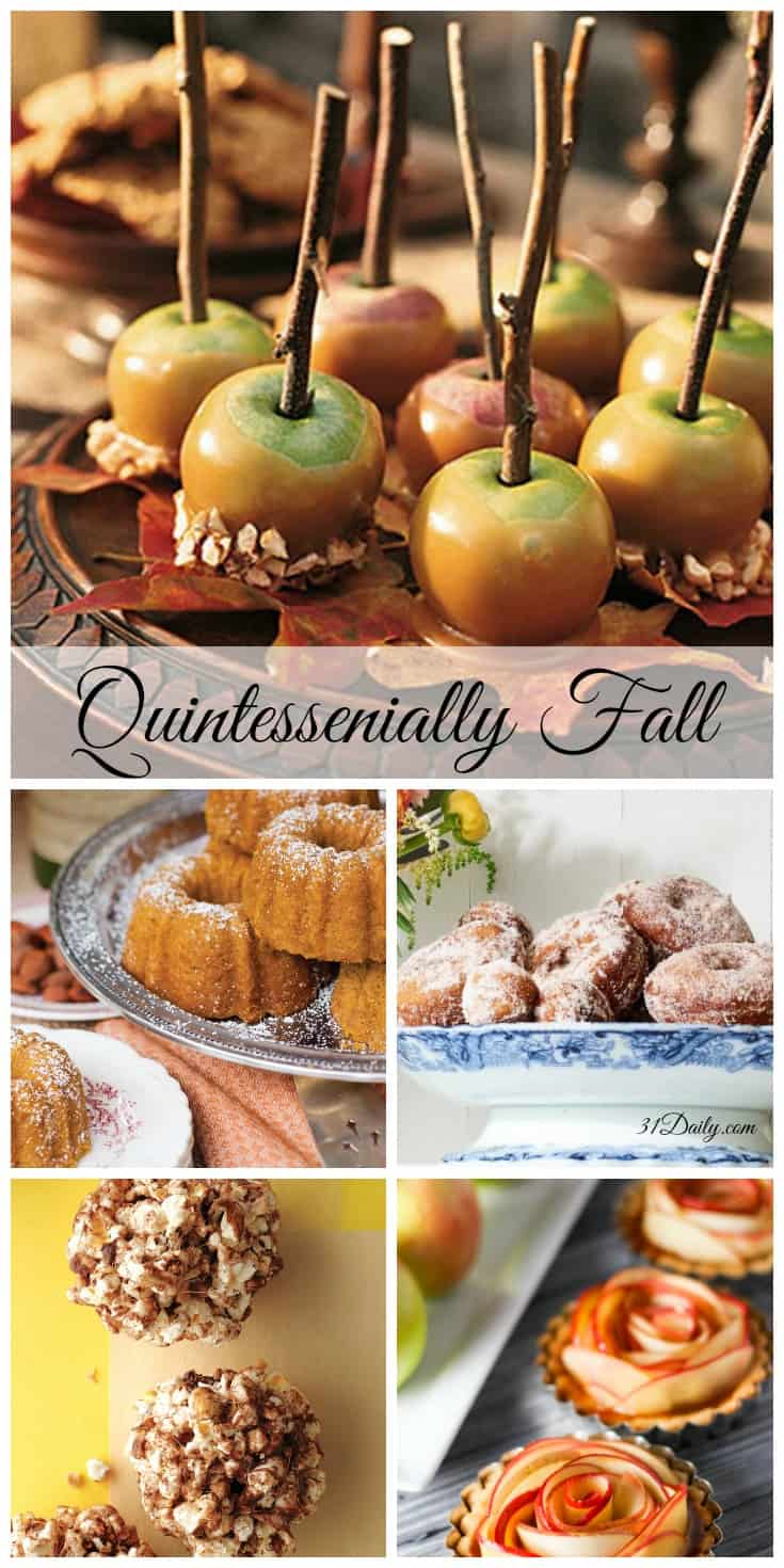 Quintessential Fall Harvest Treats | 31Daily.com