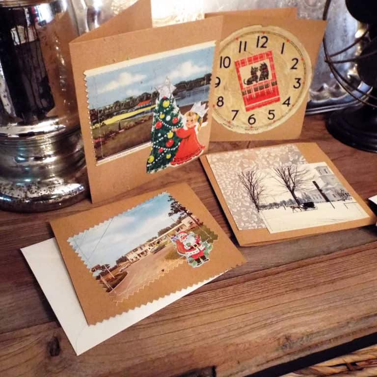 Creating Treasures: Easy Handmade Christmas Cards | 31Daily.com