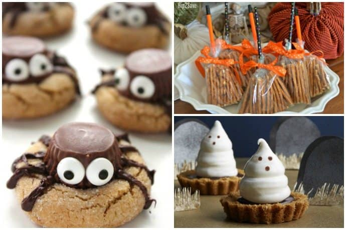 These adorable treats are perfect for your fright-night party this Halloween. 65 Spooky Halloween Desserts and Treats You Need to Make this October. These easy ideas are so good it's scary.