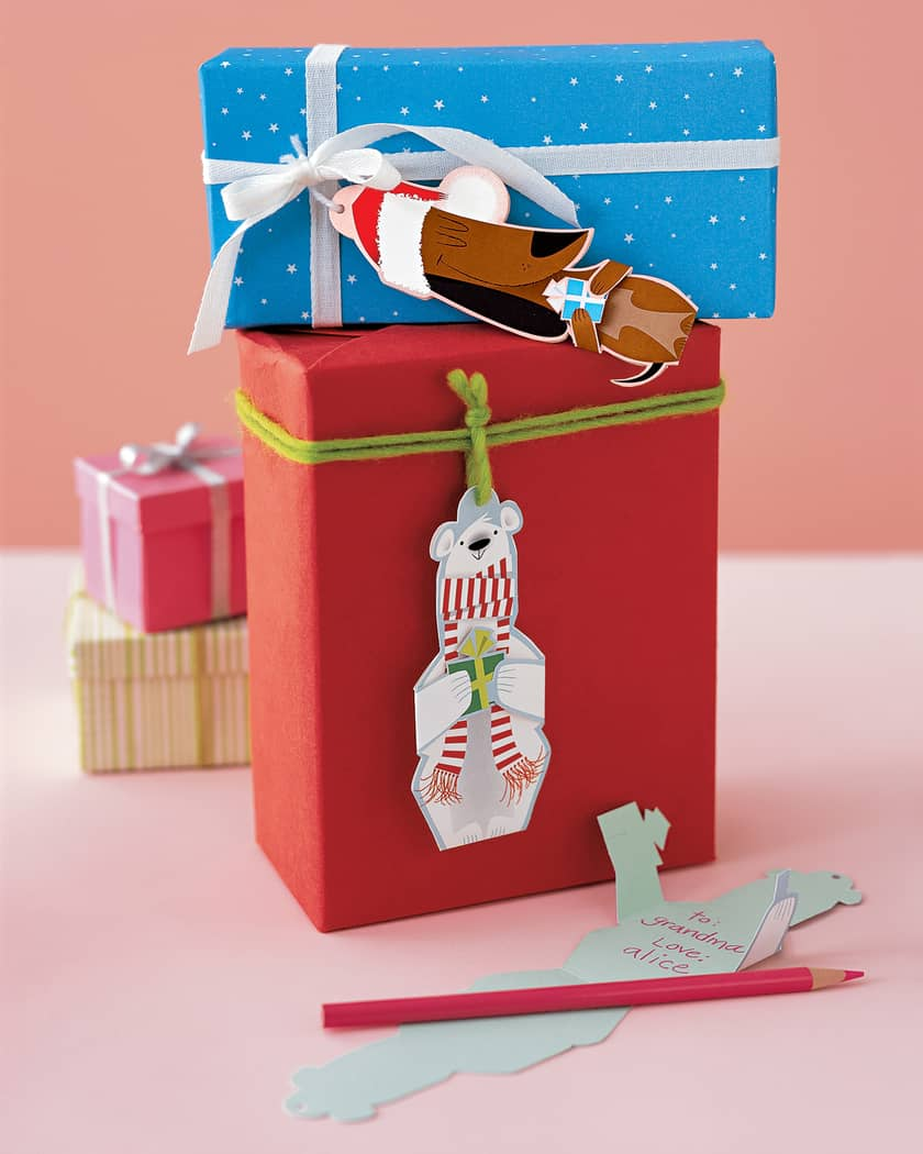 Easy Christmas Gift Tags to DIY | 31Daily.com