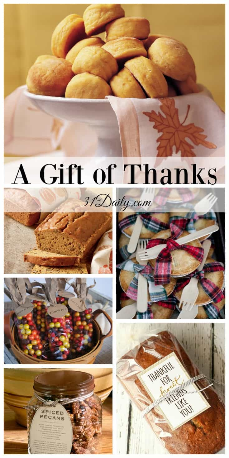 Giving the Gift of Thanks | 31Daily.com