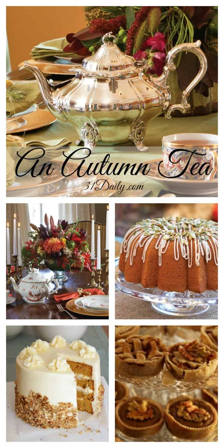 An Autumn Tea | 31Daily.com
