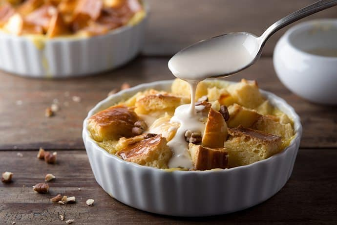 Timeless Classic: Cinnamon Brioche Bread Pudding | 31Daily.com