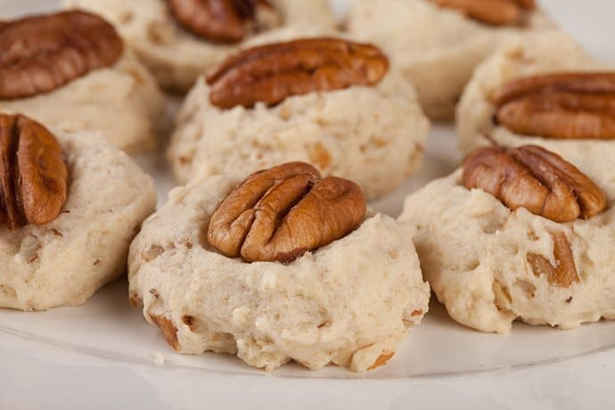 how to make pecan finger cookies