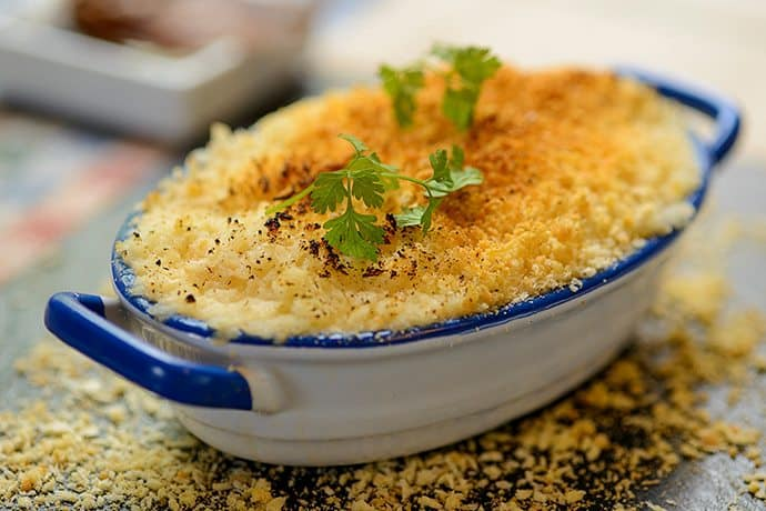 Celebrating Scotland's Feast of St Andrews Day with Smoked Haddock Bake