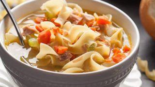 Turkey Vegetable Noodle Soup: An Easy Leftovers Recipe