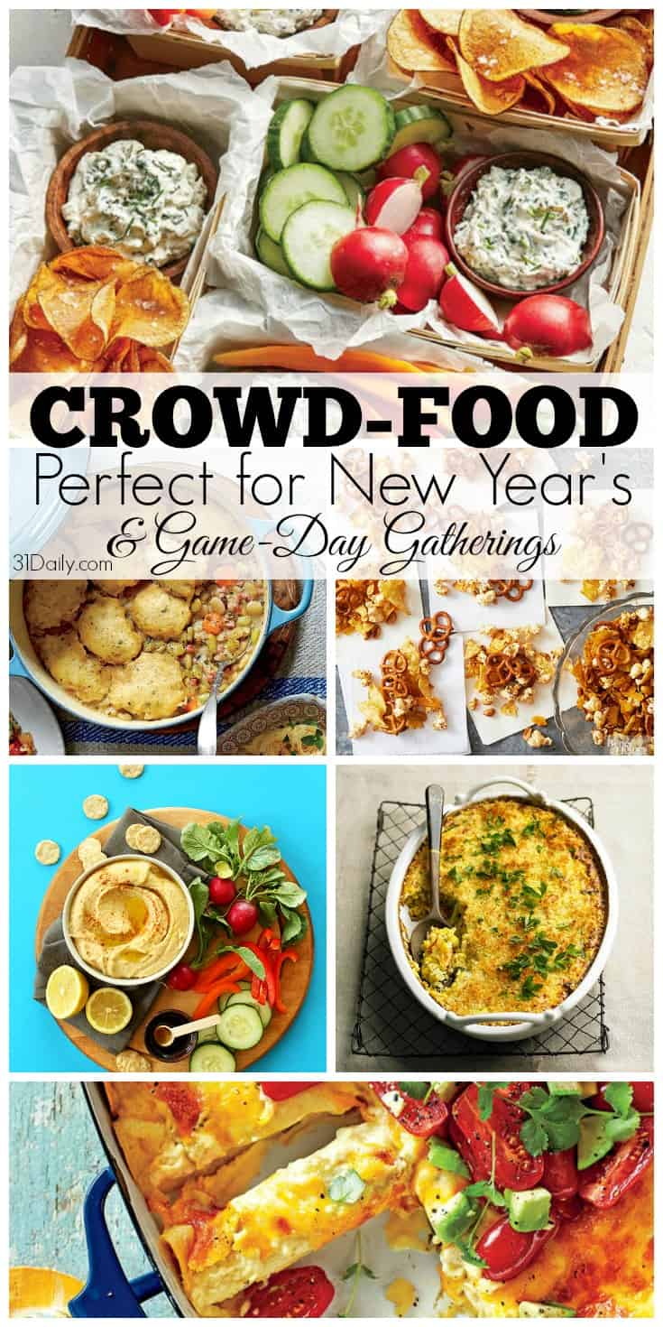 Perfect for New Year's - Crowd-Pleasing Foods | 31Daily.com
