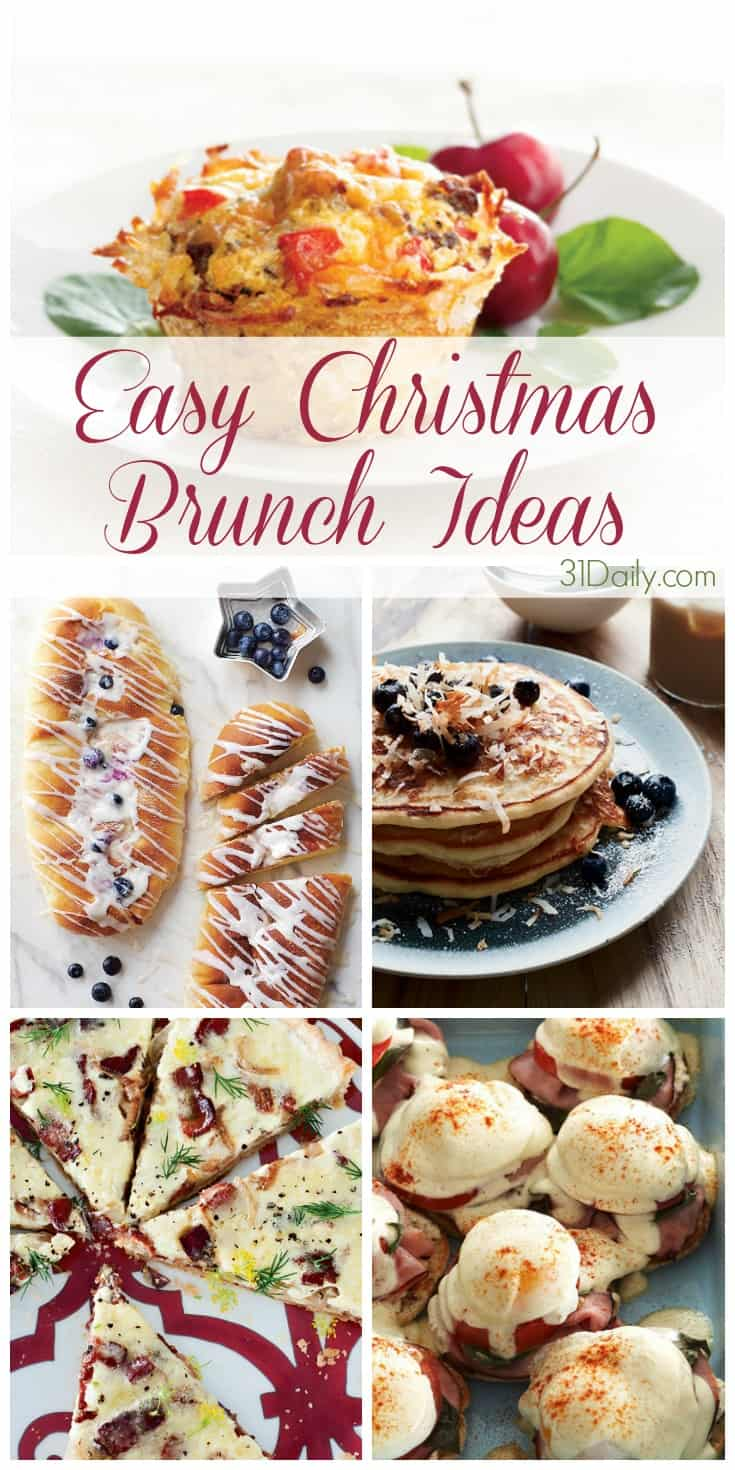 easy christmas brunch ideas 31dailycom