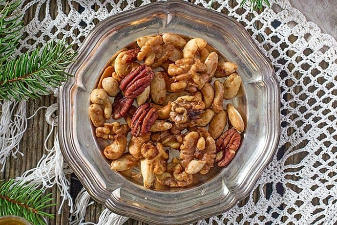 Easy Appetizer: Sweetly Spiced Mixed Nuts