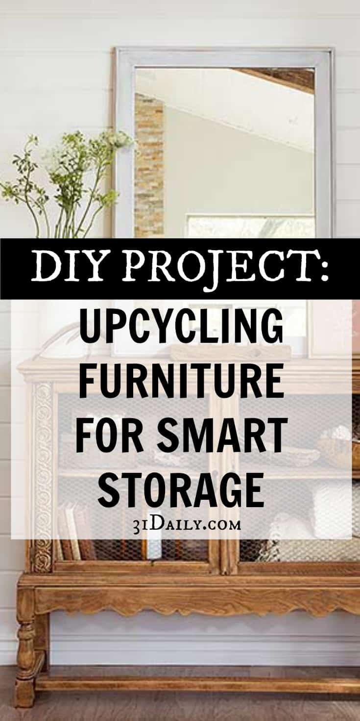 Smart Storage Solutions: Perfect for Upcycling Second Hand Finds | 31Daily.com