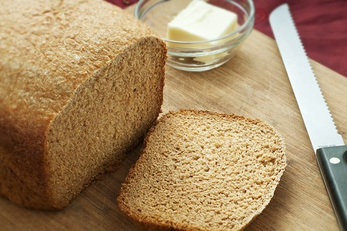 A Healthy and Tender Honey Whole Wheat Bread Recipe | 31Daily.com