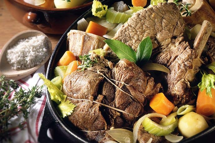A Simple and Hearty French Provencial Pot-Au-Feu