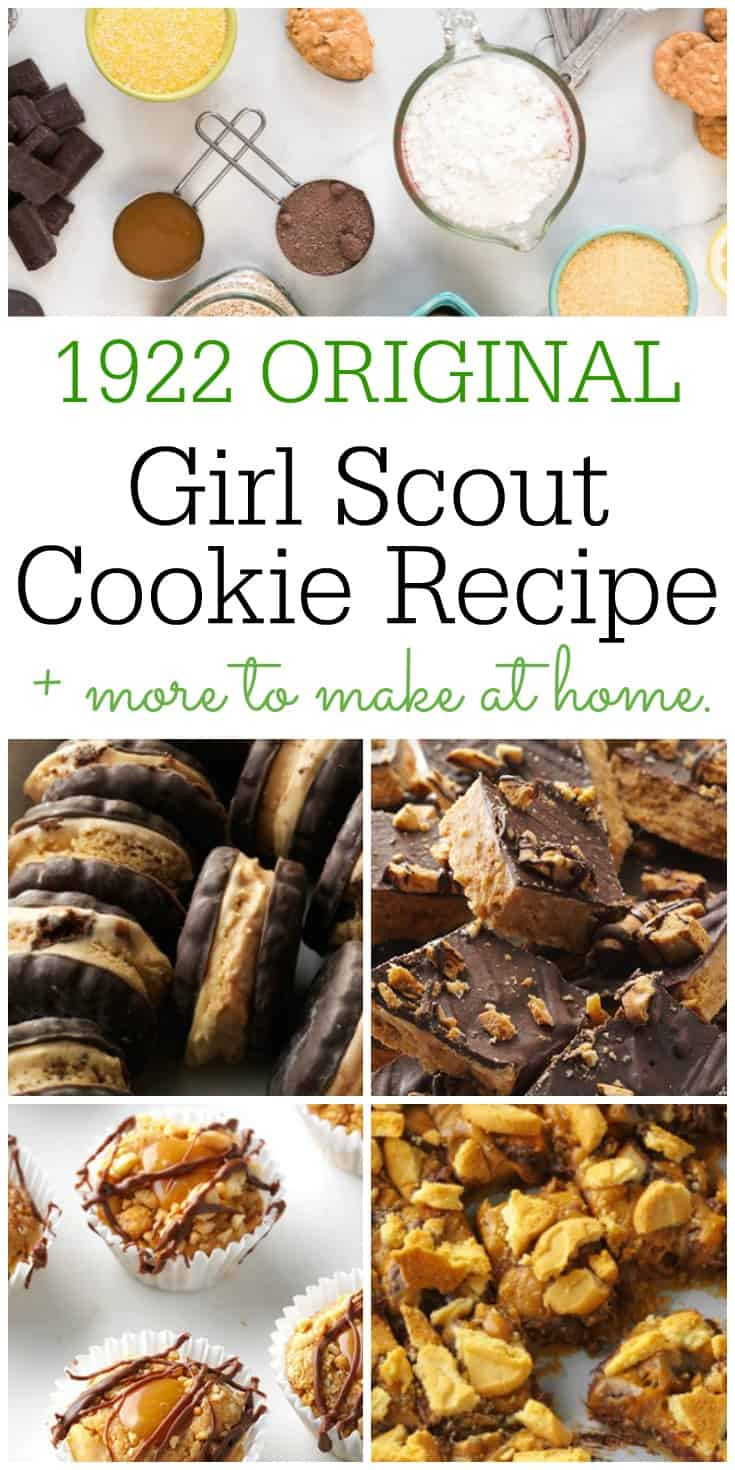 Girl Scout Cookies Original Recipe from 1922 | 31Daily.com