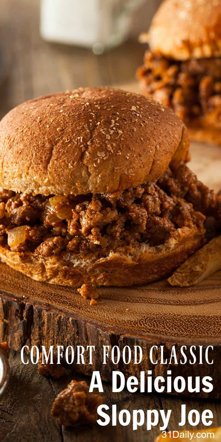A Most Delicious Sloppy Joe Recipe | 31Daily.com