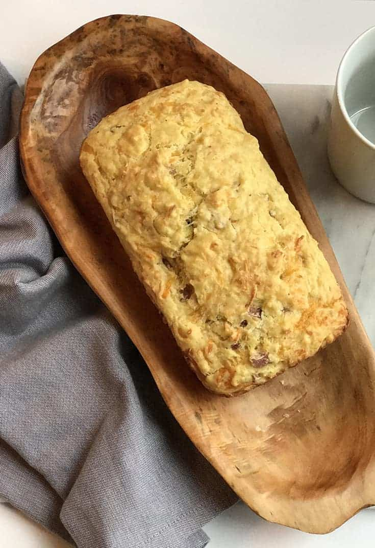 French Savory Ham and Gruyere Quick Bread | 31Daily.com