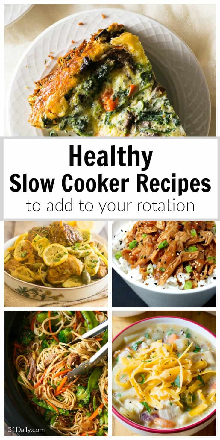 Vibrant and Healthy Slow Cooker Recipes to Add to Your Rotation | 31Daily.com