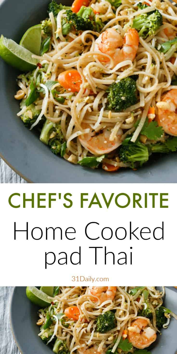 Home Cooked Pad Thai: a New Family Favorite | 31Daily.com