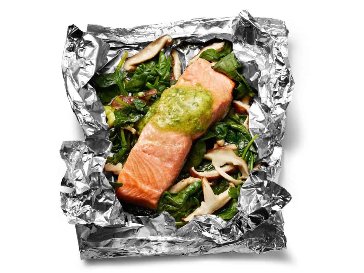 15 Minute Super Easy Foil Packet Fish Dinners | 31Daily.com