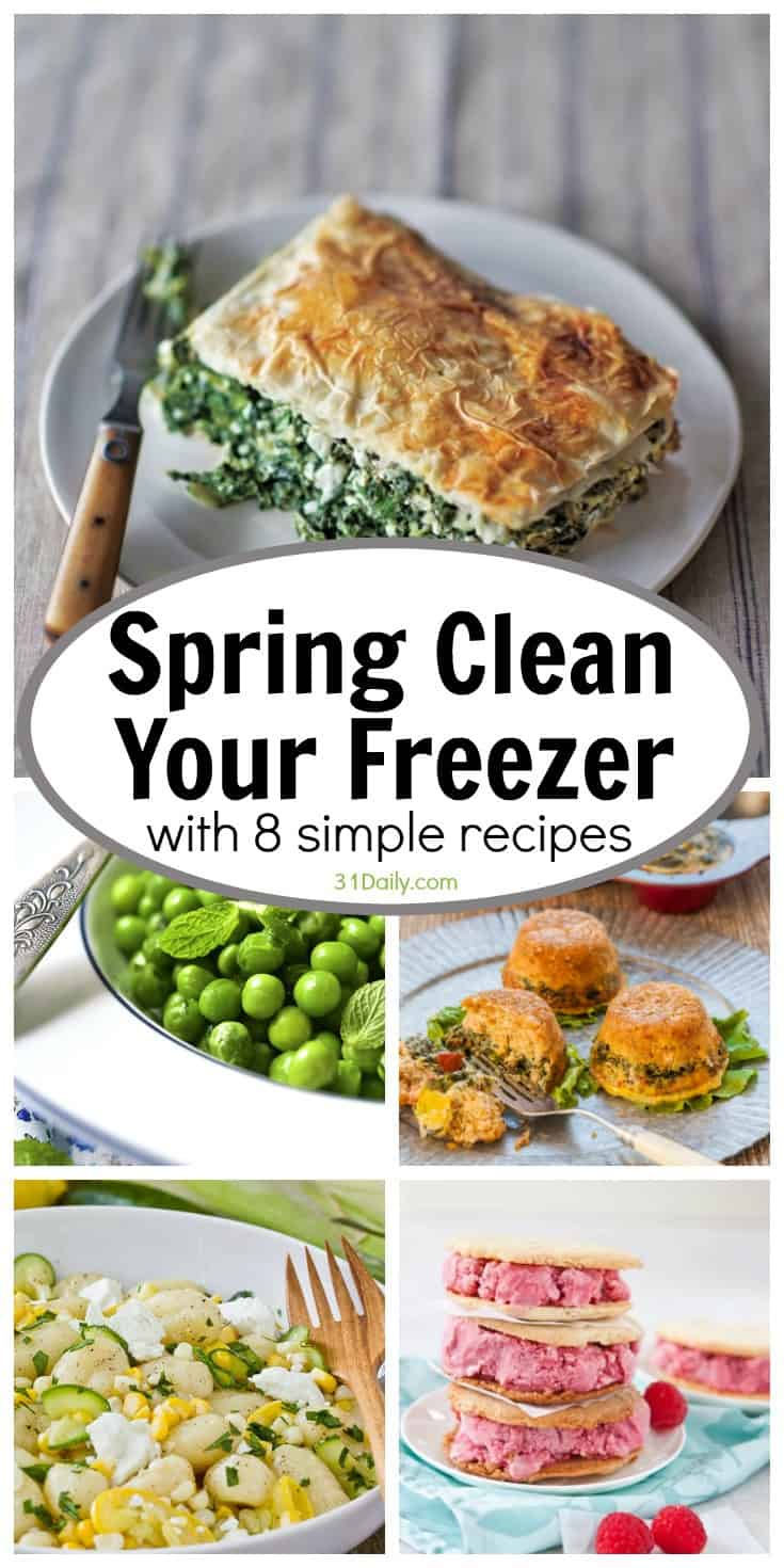 Spring Cleaning Your Freezer with 8 Simple Recipes | 31Daily.com
