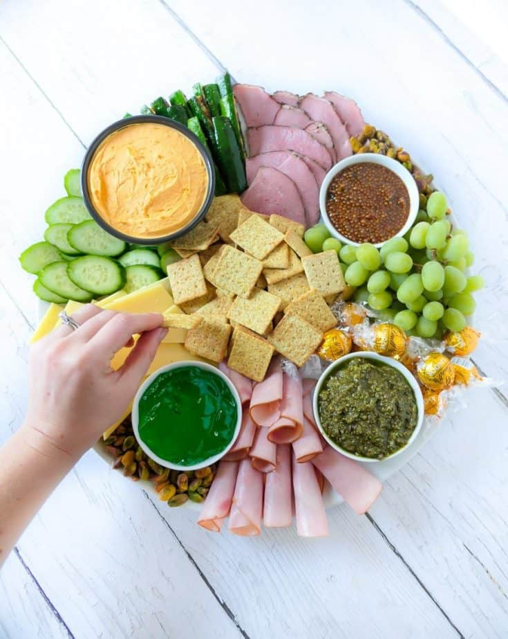 St. Patrick's Day Appetizer Board