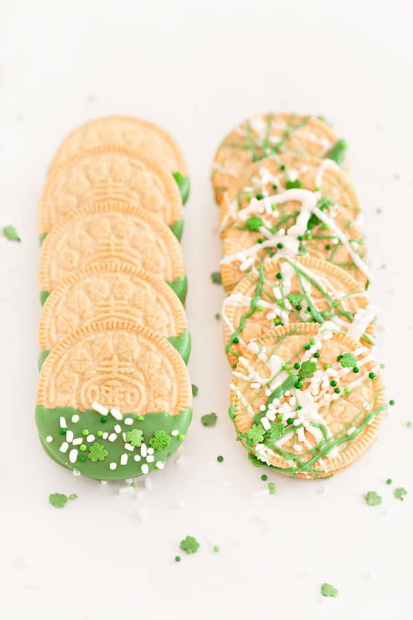 Green St Patrick's Day Treats that are Mostly Easy   31Daily.com