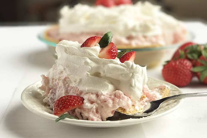 A Vintage Recipe: Princess Mary's Strawberry Chiffon Pie