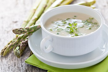 Spring Favorite: Cream of Asparagus Soup | 31Daily.com