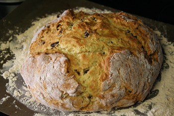 Irish Soda Bread with Buttermilk and Raisins | 31Daily.com