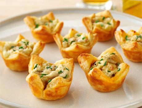 Onion Potato Tartlets
