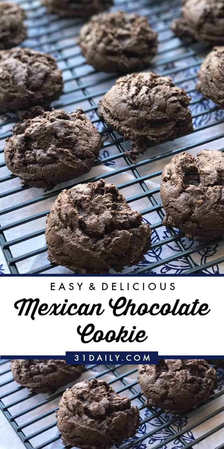 Easy Mexican Chocolate Cookies You'll Want to Make Again | 31Daily.com