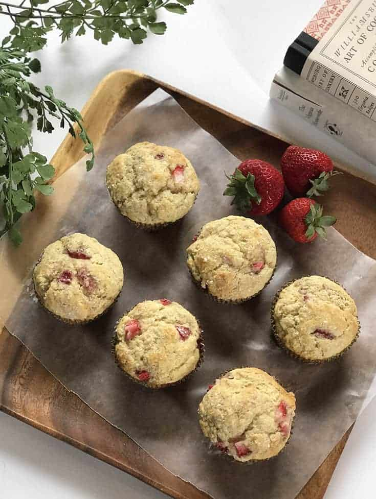 Strawberry Muffins, a Perfectly Sweet and Buttery Treat | 31Daily.com