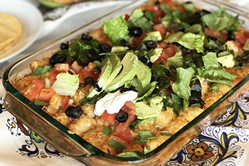 A Tuesday Idea: Mexican Taco Tater Tot Casserole | 31Daily.com
