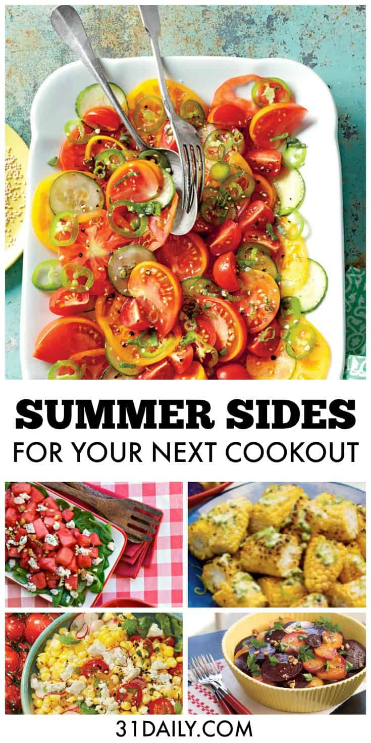 Simple Sides for Your Next Summer Cookout | 31Daily.com