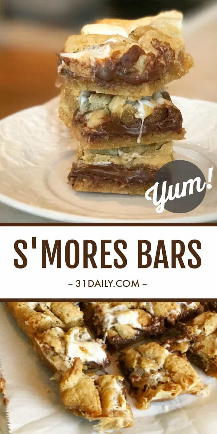 Easy S'mores Bars That Have Become Favorites | 31Daily.com