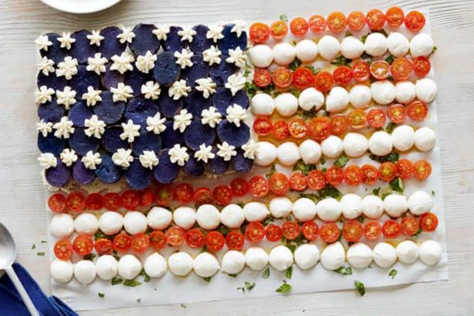Easy and Healthy Patriotic Food Ideas