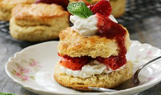 A Classic Strawberry Shortcake Made Easy