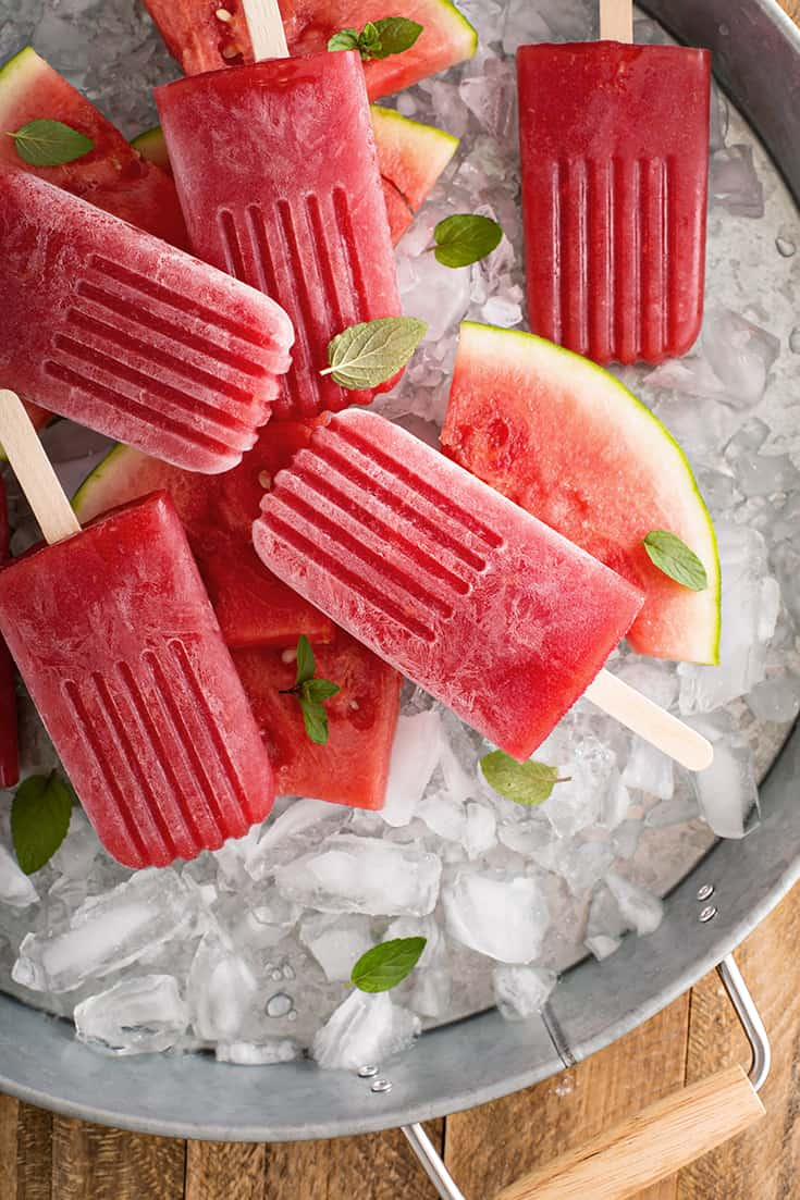 Watermelon Mint Popsicles, an Easy and Refreshing Treat | 31Daily.com
