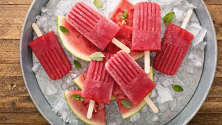 Watermelon Mint Popsicles, an Easy and Refreshing Treat