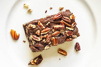 Decadent Dark Chocolate Pecan Espresso Brownies | 31Daily.com